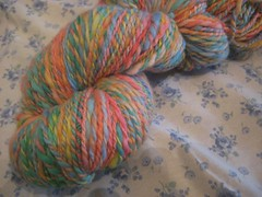 184 yards merino 2ply leftover easter