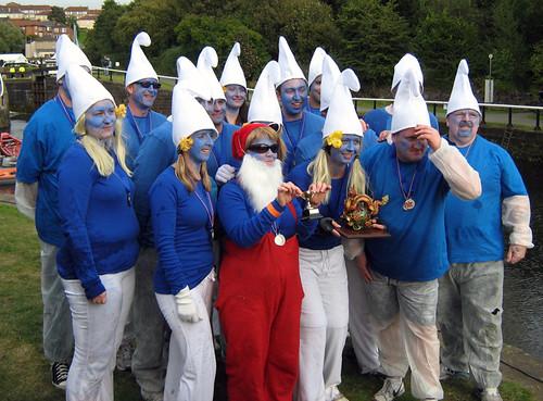 Racing Smurfs