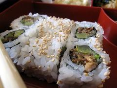 zen on ten - salmon skin roll