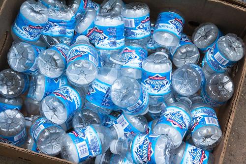 Plastic Water Bottles Mountain Ice Hunger Takes Flight KFB May 20, 20107