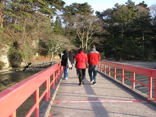 Sul ponte per Fukuura-jima
