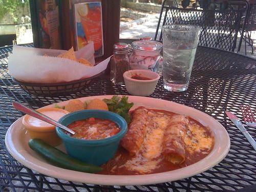 More Enchiladas @ Serranos by you.