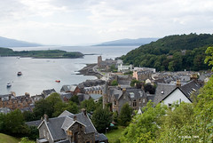 A View of the Harbour - Oban, Scotland