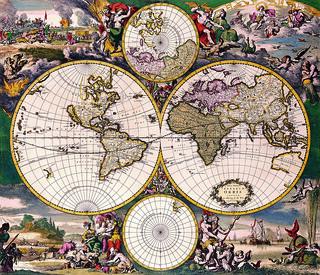 Antique map 15