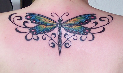 Dragonfly Tattoo by Classic Ink Tattoo Studio