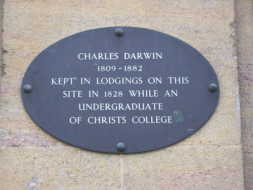 Site of Darwin Lodgings (1828), Boots the Chemist, Cambridge, England