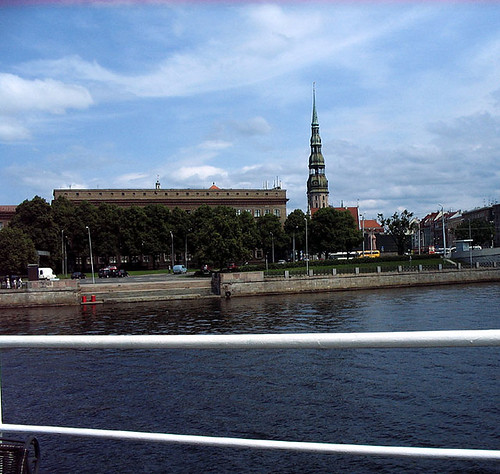 Riga, seen from the Water. Photo: Ulla Hennig
