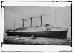 [S.S. Imperator, an ocean liner in the Hamburg...