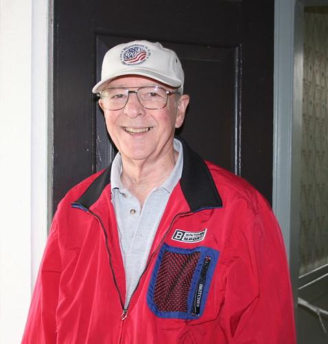 Floyd, the Ellwood volunteer