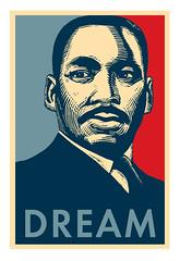 Shepard Fairey Inspired MLK Dream T-shirt