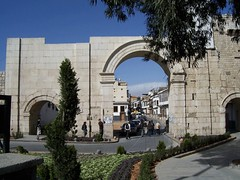 One of the gates into Damascus