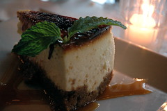 Crème Brûlée Cheesecake - Grillfish, South Beach
