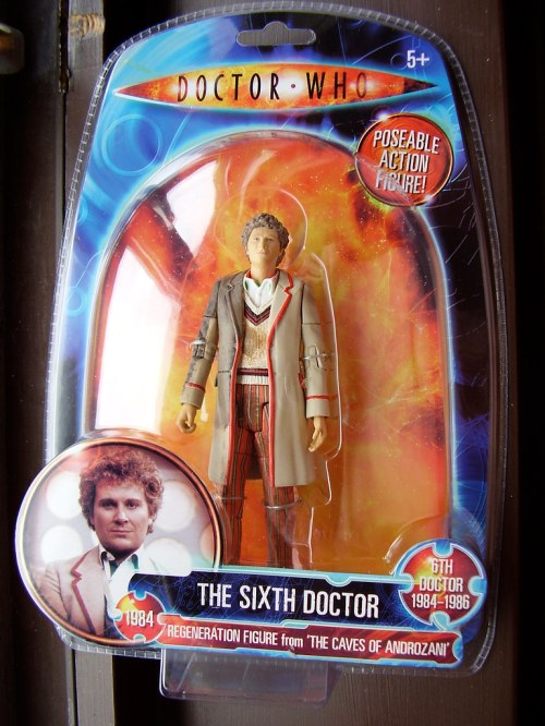 DR WHO 'Action Figure' - Sixth Doctor [Regeneration]