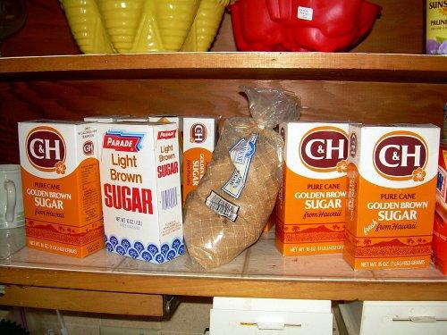 Sugar. Sugar? Sugar!