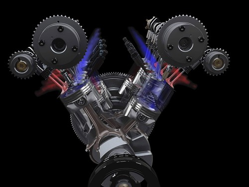 Ford's EcoBoost Engine In Action
