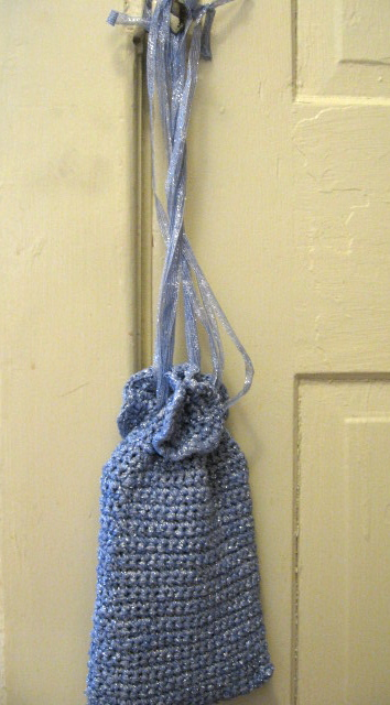 Crochet Purse #3, Crystal Palace Art Deco