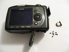 Removing exterior screws