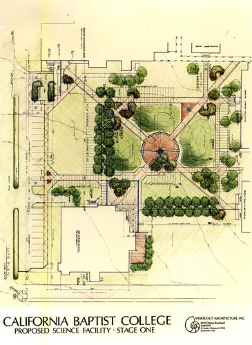 CBC Science Building Courtyard Rendering