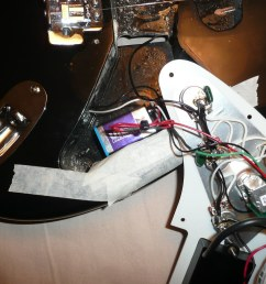 emg afterburner install completed icanmakeit de tags diy wiring guitar ab howto [ 1024 x 768 Pixel ]
