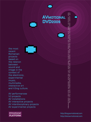 Eclectique Telescope [Cata Vastagu, Pupila, me] on the AVmotional DVD 2009