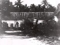Hospital at Adelup Ruins, 1899