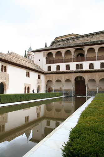 Nasrid Palace Reflection