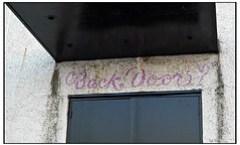 Back Door?