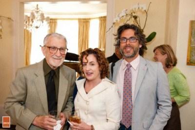 Dr. Leonard Gordon, Ayelet Waldman, Michael Chabon
