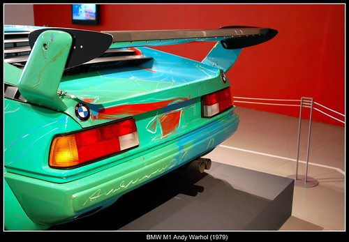 BMW M1 Andy Warhol (1979)