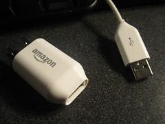 Power/USB cord for Kindle 2