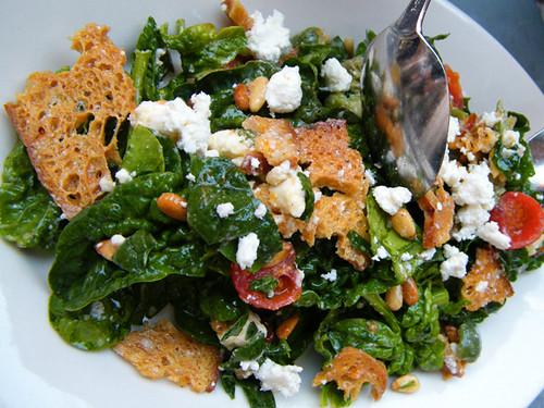 Spinach Salad, MyLastBite.com