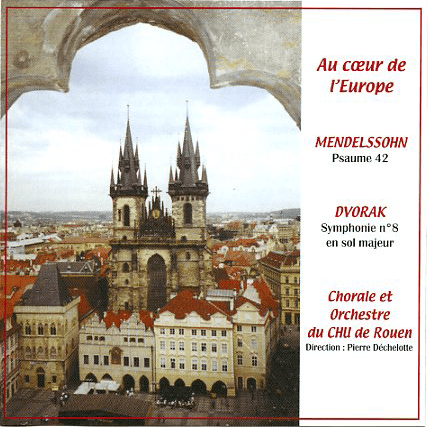 "Pochette CD ""Au Coeur de l'Europe"""