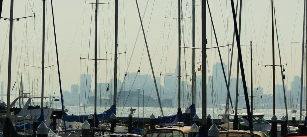 San Francisco from the Port of Tiburon