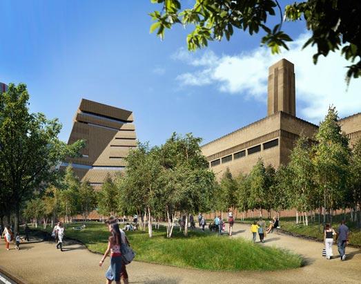 The Tate Modern, London Bankside, UK