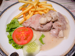 Pork Fillet With Mushroom Sauce