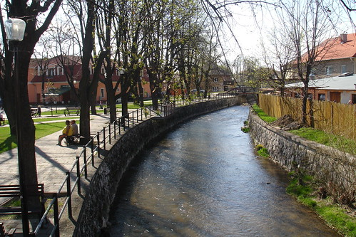 Tiny Poprad river