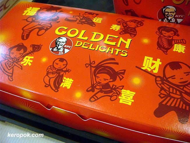 Golden Delights Snack Platter