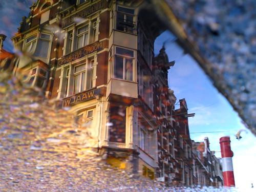 Reflections Of Amsterdam - Fata Morgana Detail
