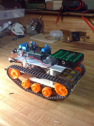 Arduino Robot Base by cmpalmer.