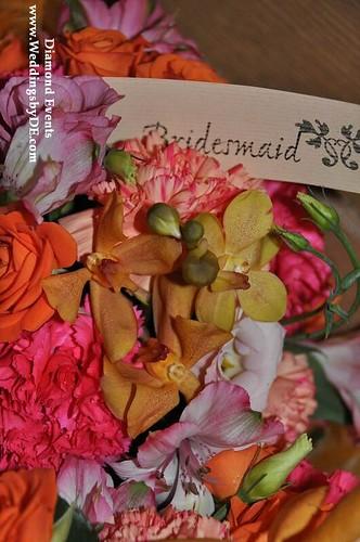 Bridesmaid Bouquet by Bergone's