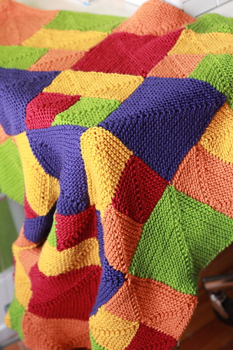 blanket via indirect natural light