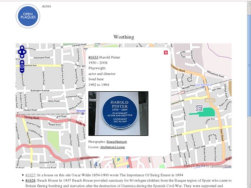 Open Plaques screenshot