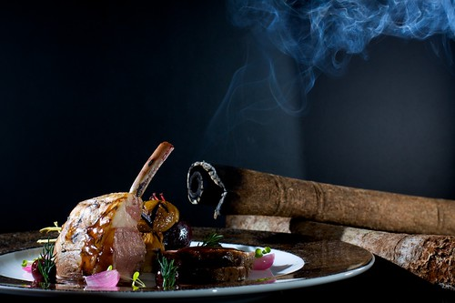 Cinnamon Smoked Lamb