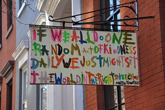 If We All Do One Random Act of Kindness...