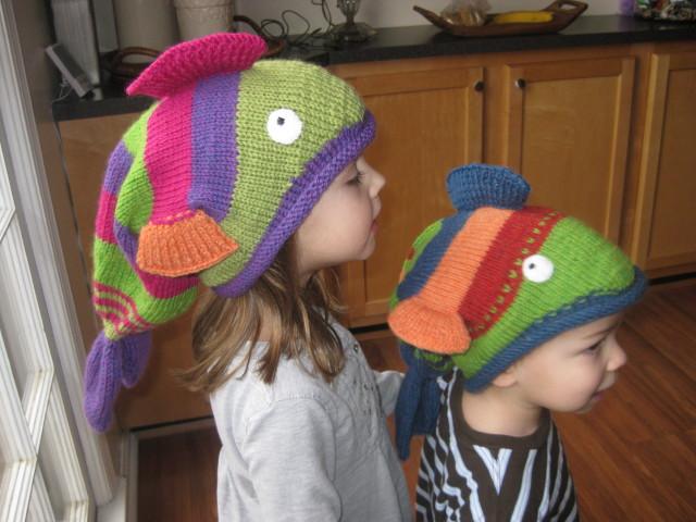 Fish hats alive