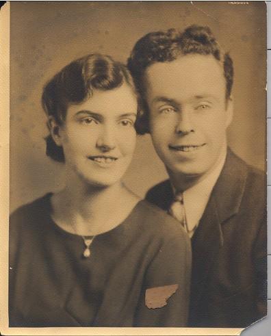 Anne Chinnery Brady & Frank Brady ca. 1934