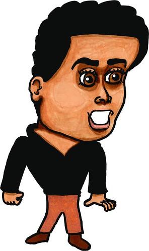 Jim Lujan caricature, part 2