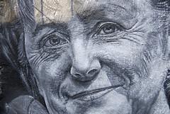 Angela Merkel painted portrait _DDC8551