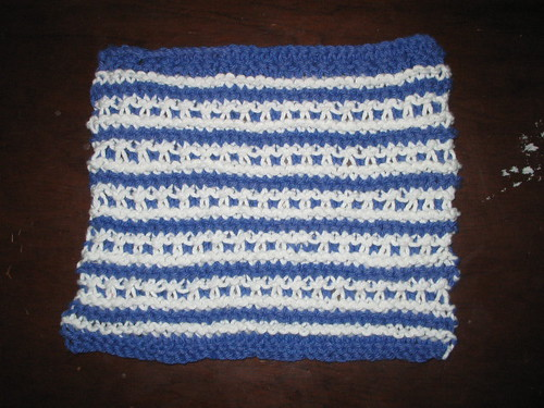Dishcloth KAL 2008 Mid February
