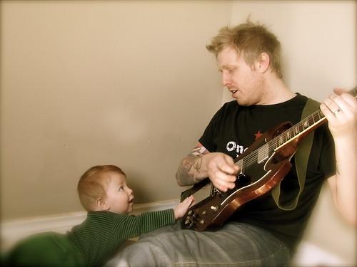 Guitar! Daddy!